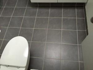 Olsson VVS - Badeværelse - Grå - Gulvvarme efter