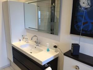 Håndvask i hvidt design.